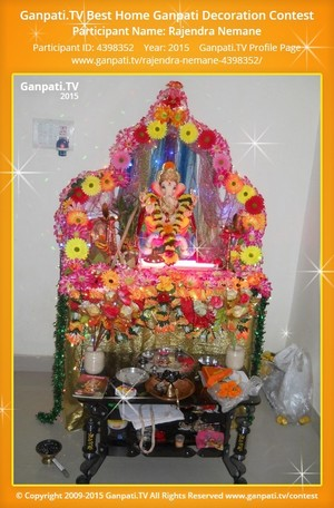 Rajendra Nemane Ganpati Decoration