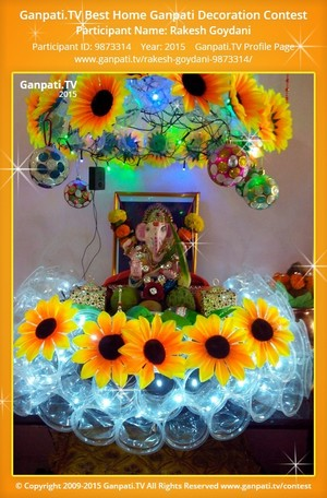Rakesh Goydani Ganpati Decoration
