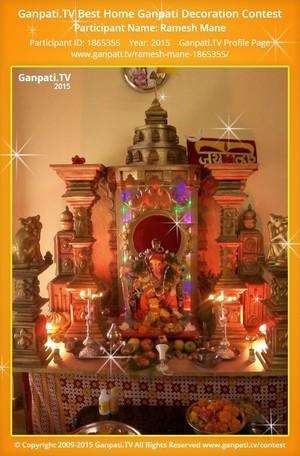 Ramesh Mane Ganpati Decoration