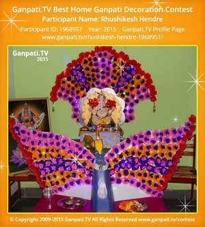 Rhushikesh Hendre Ganpati Decoration