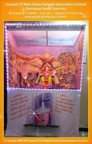 Rohit kad Ganpati Decoration