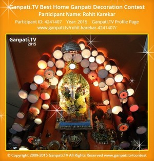 Visit Rohit Karekar Ganpati Decoration