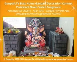 Sachin Gangawane Ganpati Decoration