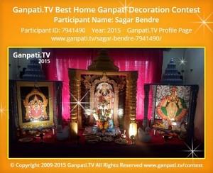 sagar bendre Ganpati Decoration
