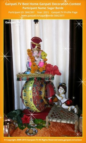 sagar borde Ganpati Decoration