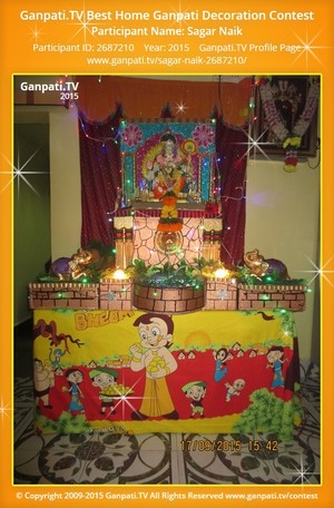 Sagar Naik Ganpati Decoration