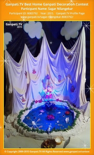 Sagar Nilangekar Ganpati Decoration