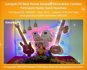 samir hanchate Ganpati Decoration