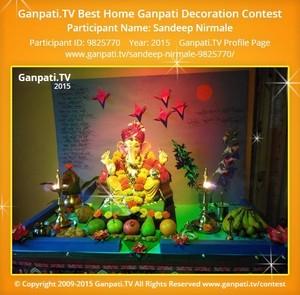 Sandeep Nirmale Ganpati Decoration
