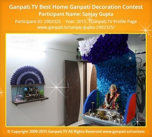 Sanjay Gupta Ganpati Decoration