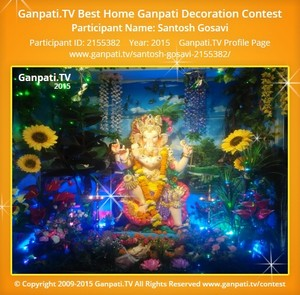 Santosh Gosavi Ganpati Decoration