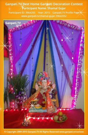 Shamal Gujar Ganpati Decoration