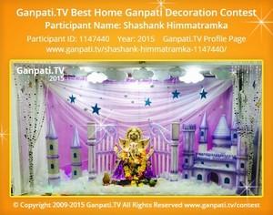 Shashank Himmatramka Ganpati Decoration