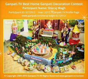 Shivraj Wagh Ganpati Decoration