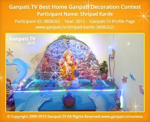 shripad karde Ganpati Decoration