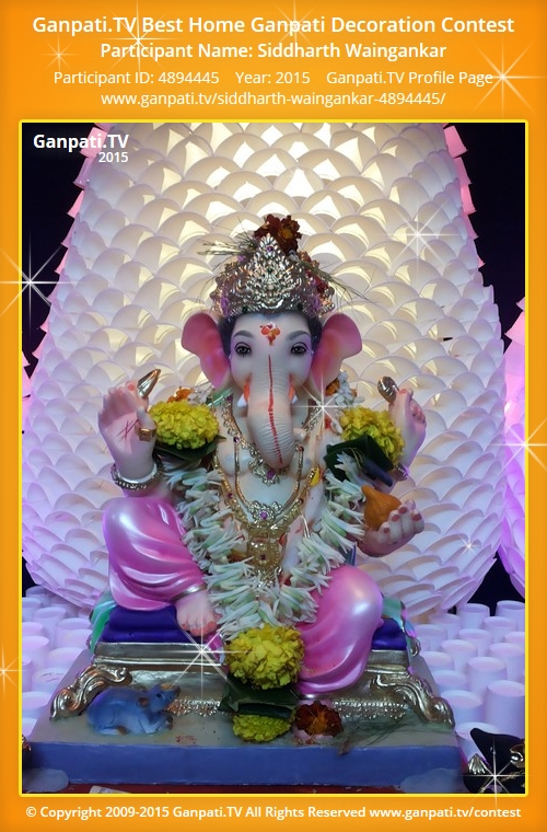 Superior ... Home Ganpati From Year 2015. Decoration ...
