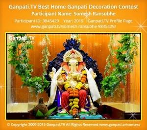 Somesh Ransubhe Ganpati Decoration