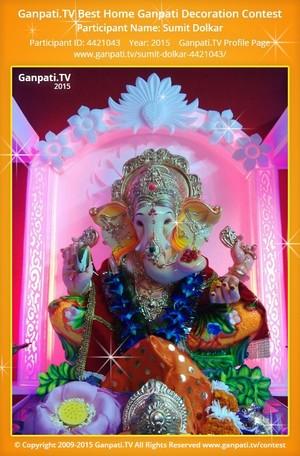 Sumit Dolkar Ganpati Decoration