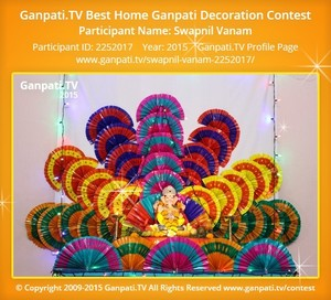 SWAPNIL VANAM Ganpati Decoration