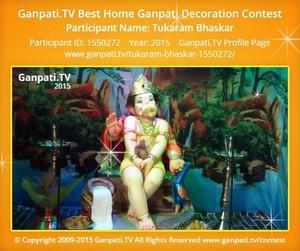 Tukaram Bhaskar Ganpati Decoration