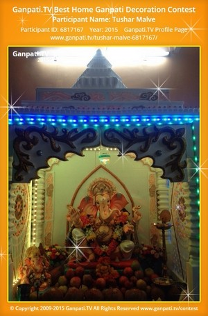 Tushar Malve Ganpati Decoration
