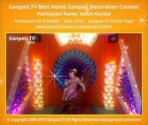 VARUN KUNDAL Ganpati Decoration