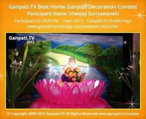 Vheejay Surryawanshi Ganpati Decoration