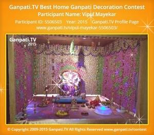 Vipul Mayekar Ganpati Decoration