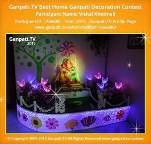 Vishal Khetmali Ganpati Decoration