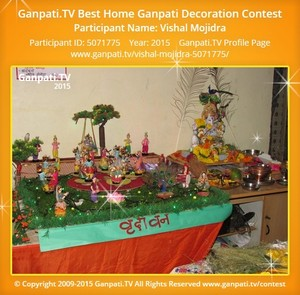 Vishal Mojidra Ganpati Decoration