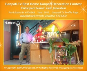 yash janwalkar Ganpati Decoration
