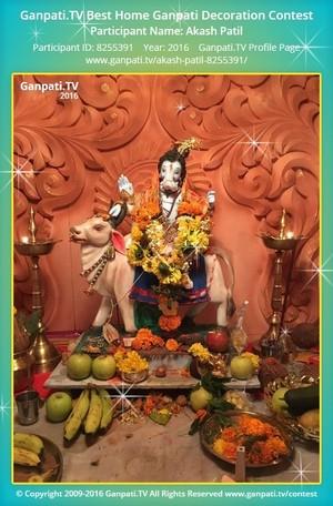 Akash Patil Ganpati Decoration