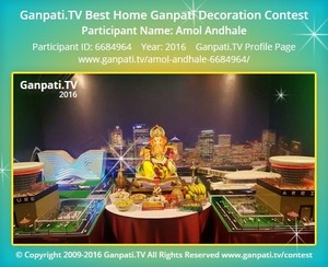 Amol Andhale Ganpati Decoration