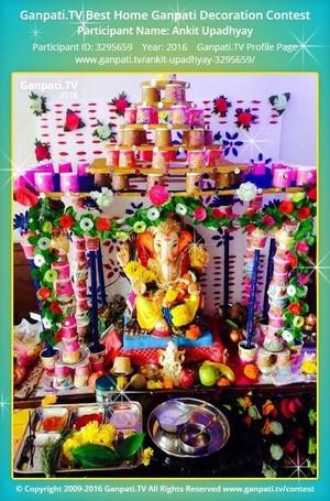 Ankit Upadhyay Ganpati Decoration