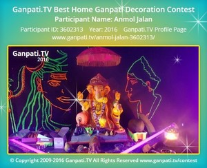 Anmol Jalan Ganpati Decoration
