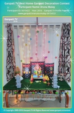 Aruna Mulay Ganpati Decoration