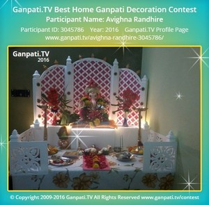 Avighna Randhire Ganpati Decoration
