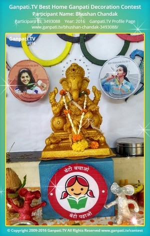 Bhushan Chandak Ganpati Decoration