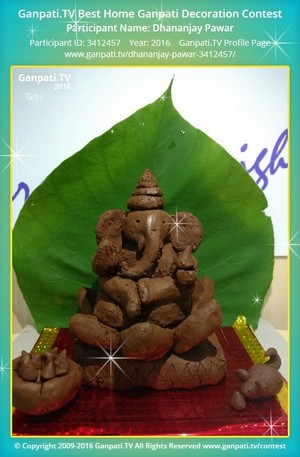 Dhananjay Pawar Ganpati Decoration