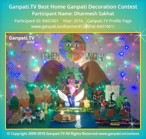 Dharmesh Sakhat Ganpati Decoration