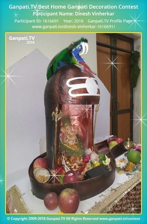 Dinesh Vinherkar Ganpati Decoration