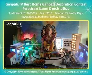 Dipesh Jadhav Ganpati Decoration