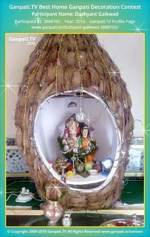 Dushyant Gaikwad Ganpati Decoration