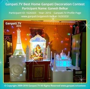 Ganesh Belkar Ganpati Decoration