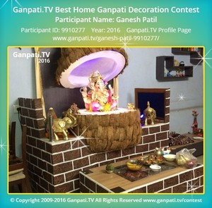 Ganesh Patil Ganpati Decoration