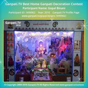 Gopal Binani Ganpati Decoration