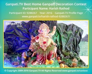 Harish Rathod Ganpati Decoration