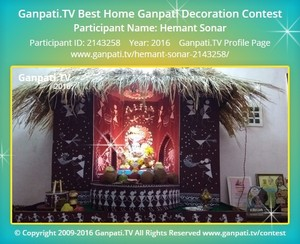 Hemant Sonar Ganpati Decoration