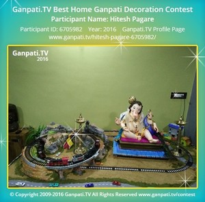Hitesh Pagare Ganpati Decoration
