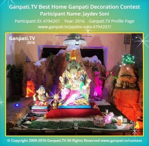 Jaydev Soni Ganpati Decoration